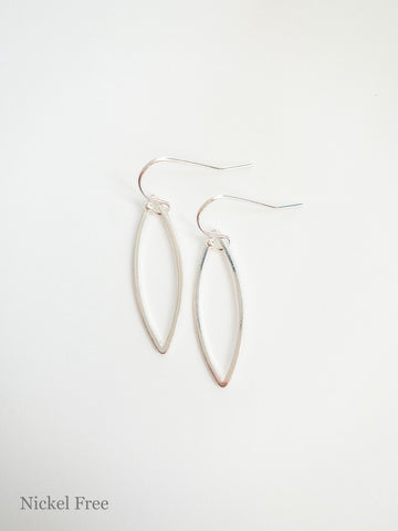 Savanna Silver Earrings