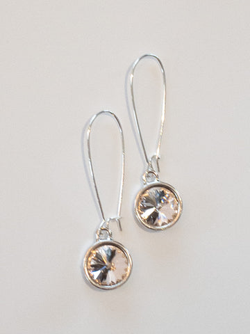 Bella Earrings in Blush