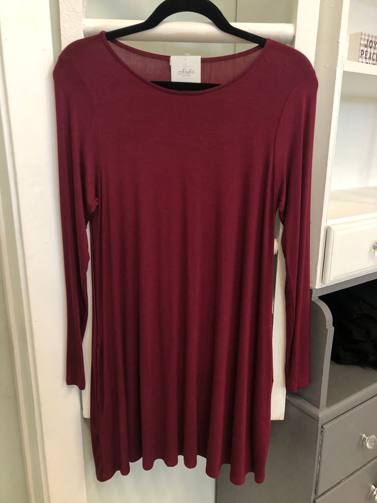 Kate Maroon Tunic