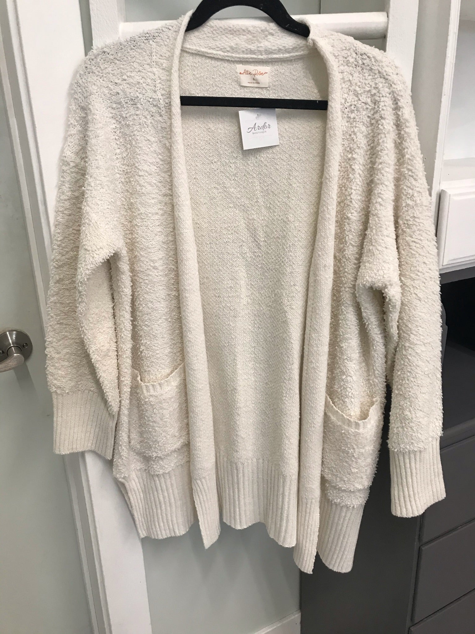 Fiona Cream Cardigan