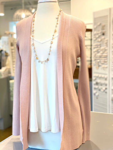 Susan Blush Cardigan