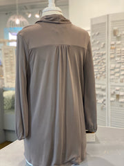 Wrap Around Top - Taupe