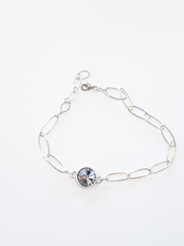 Bella Anklet in Silver