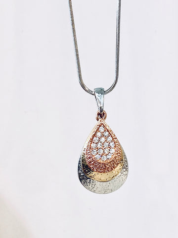 Renya Mixed Metal Necklace