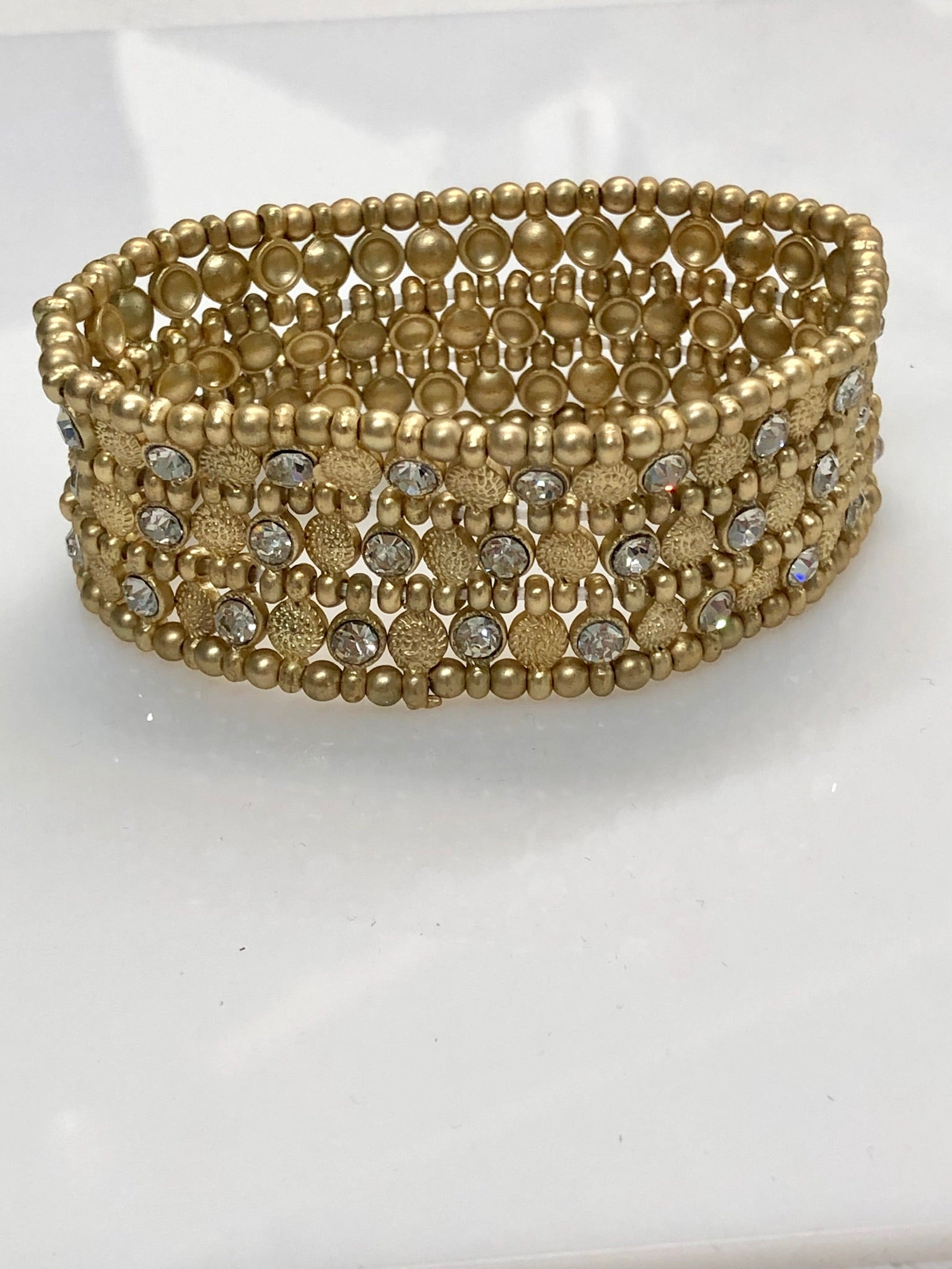 Brynne Gold Stretch Bracelet