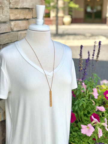 Long Gold Riley Necklace