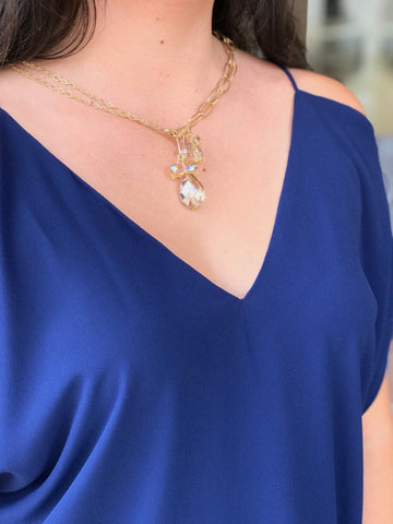 St. Charles Wear It 2 Ways Nina halls necklace