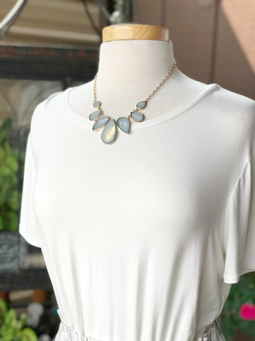 Eliana Short Gold Necklace