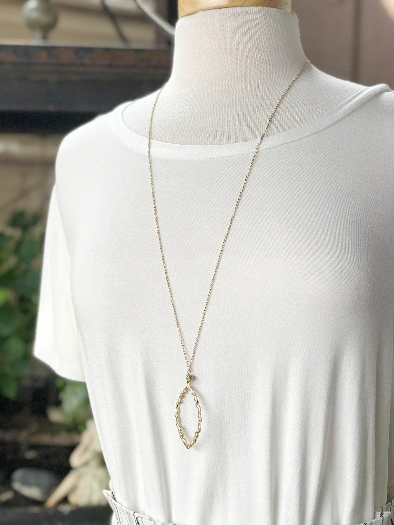 Isabelle Long Gold Necklace