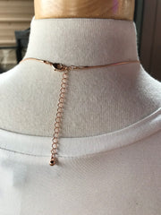 Ada Short Rose Gold Necklace