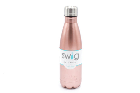 Rose Gold 17oz Swig Bottle