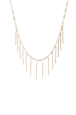 Handmade designer gold Bensdorp necklace