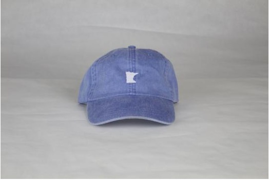 Periwinkle Embriodered MN Hat