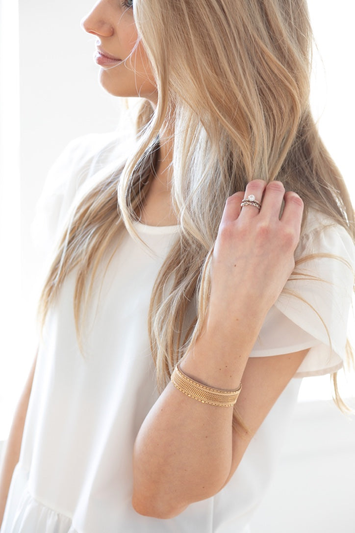 Janey Wrap Bracelet - Gold