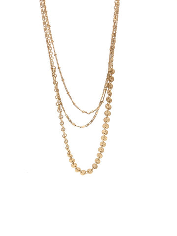 Tina Gold Layered Necklace