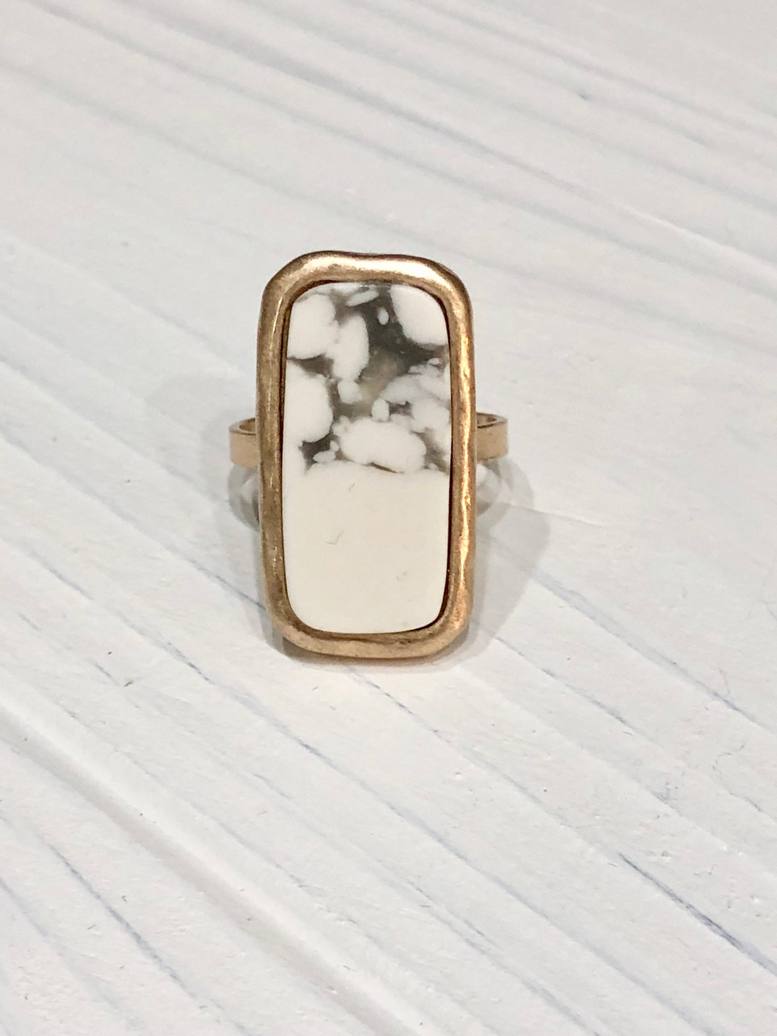 Lexi Marble Ring