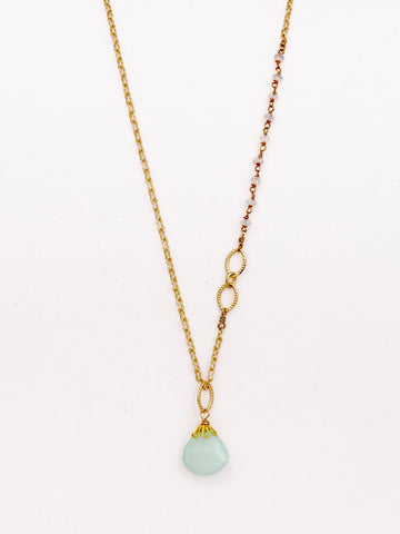 Peruvian Chalcedony nh Necklace