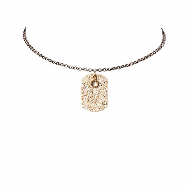 "The ""Dawg"" Quartz Choker"