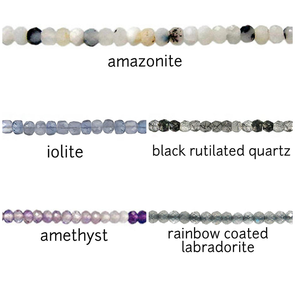"The ""Stoned"" Anklet (Choose your gemstone)"