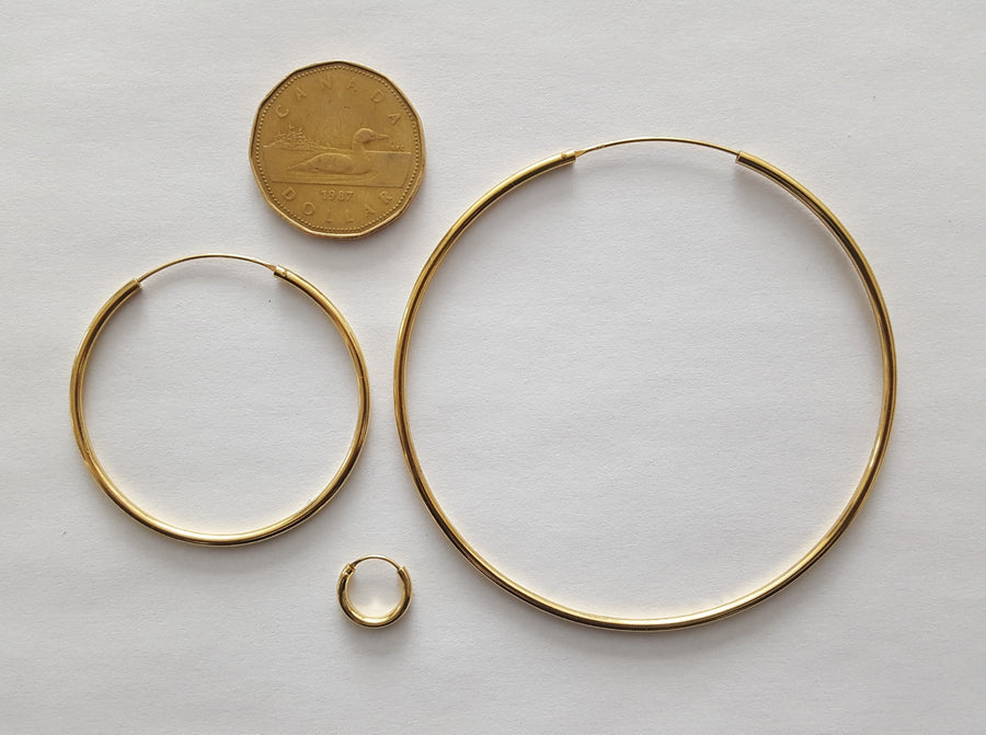 "The ""Bigger The HO-op"" Hoops (3 sizes)"