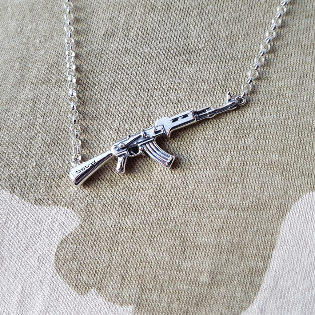 "The Men's ""Combat"" Necklace"