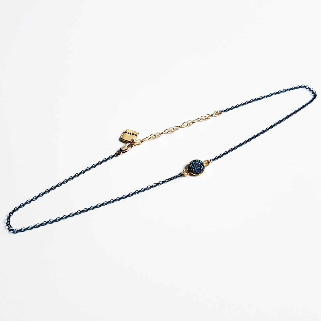 "The ""Drizzy"" Druzy Quartz Choker"