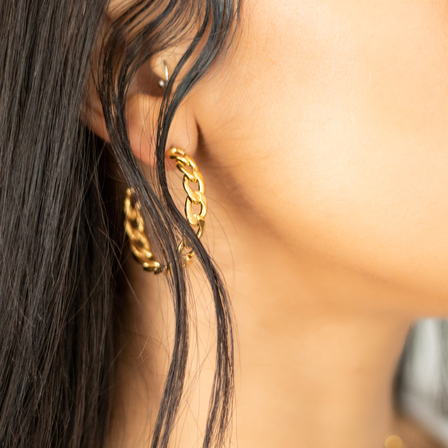 The Cuban Hoop Earrings
