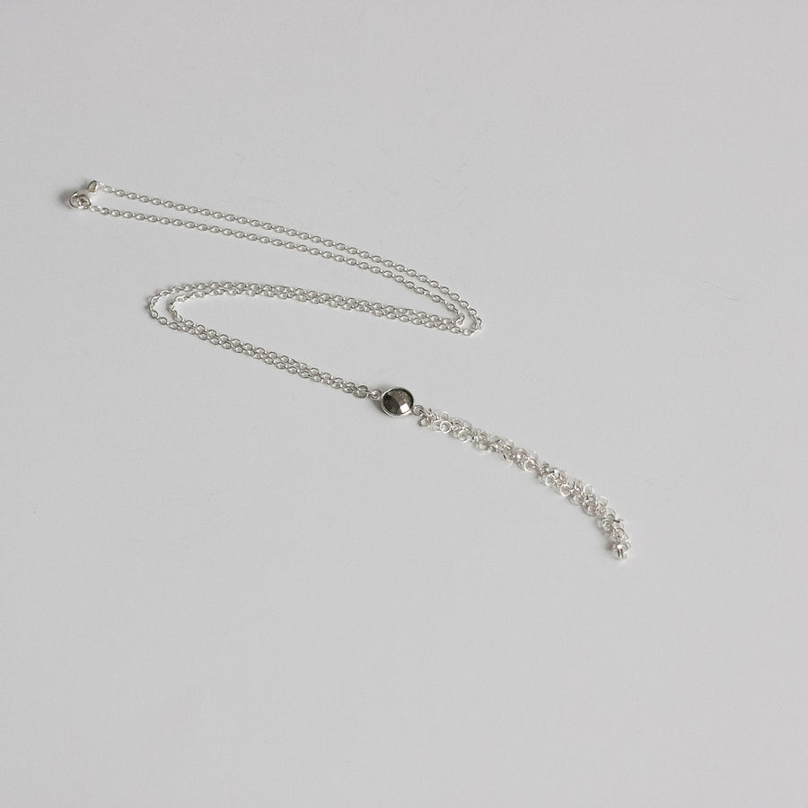 "The ""Fuzzy"" Lariat Necklace"