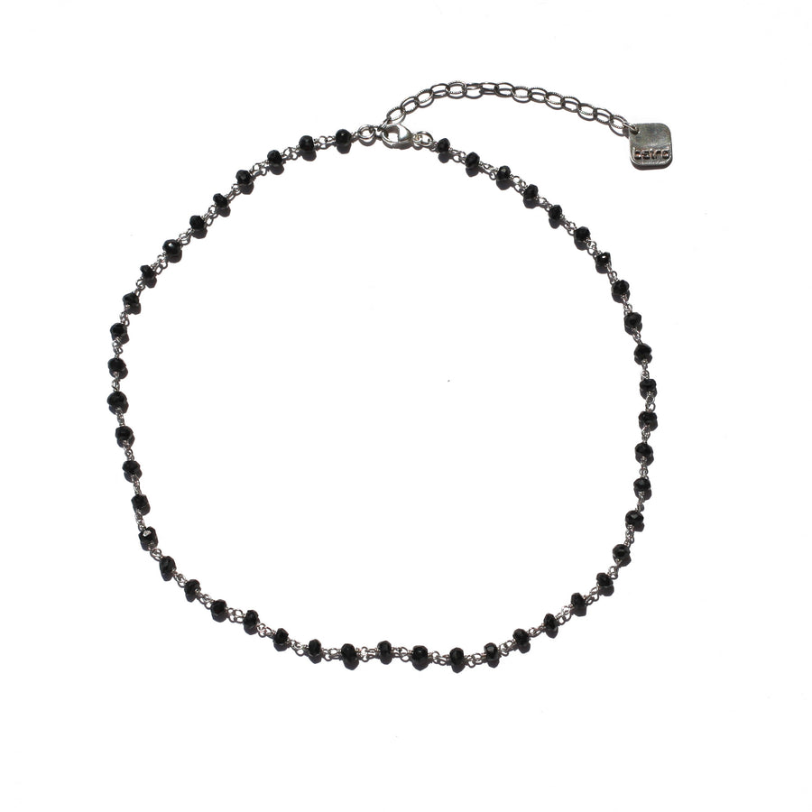 "The ""Prayer"" Spinel Gemstone Choker"