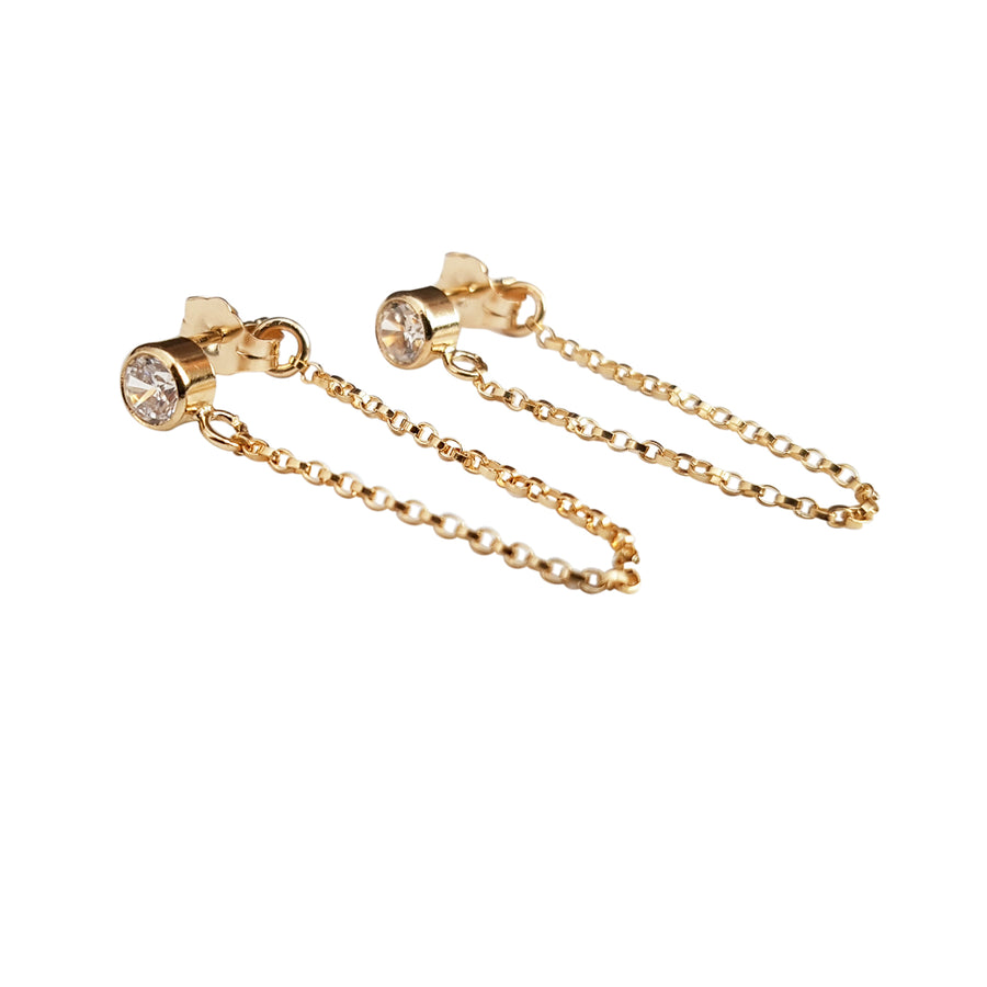 "The ""CZ Mo"" Earrings"