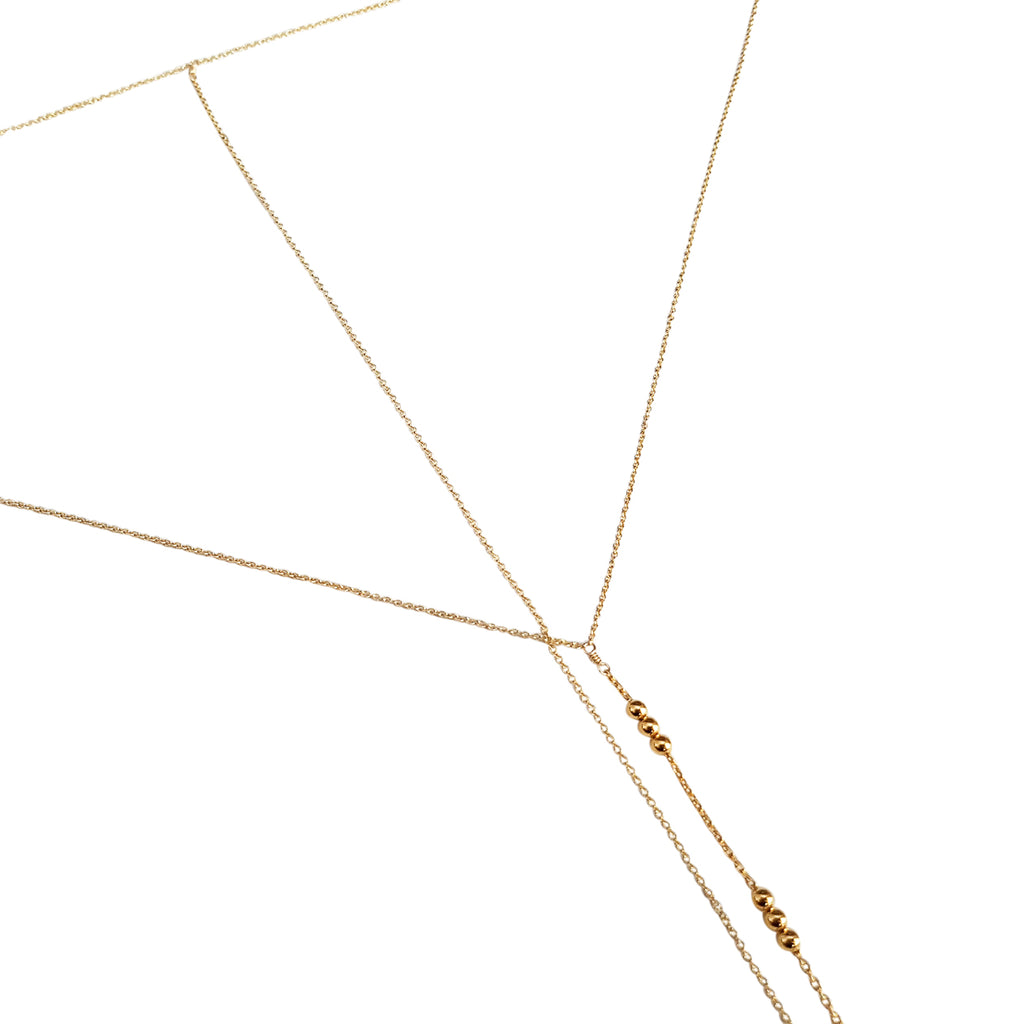"The ""Trifecta"" Lariat Body Chain/Wrap Choker"