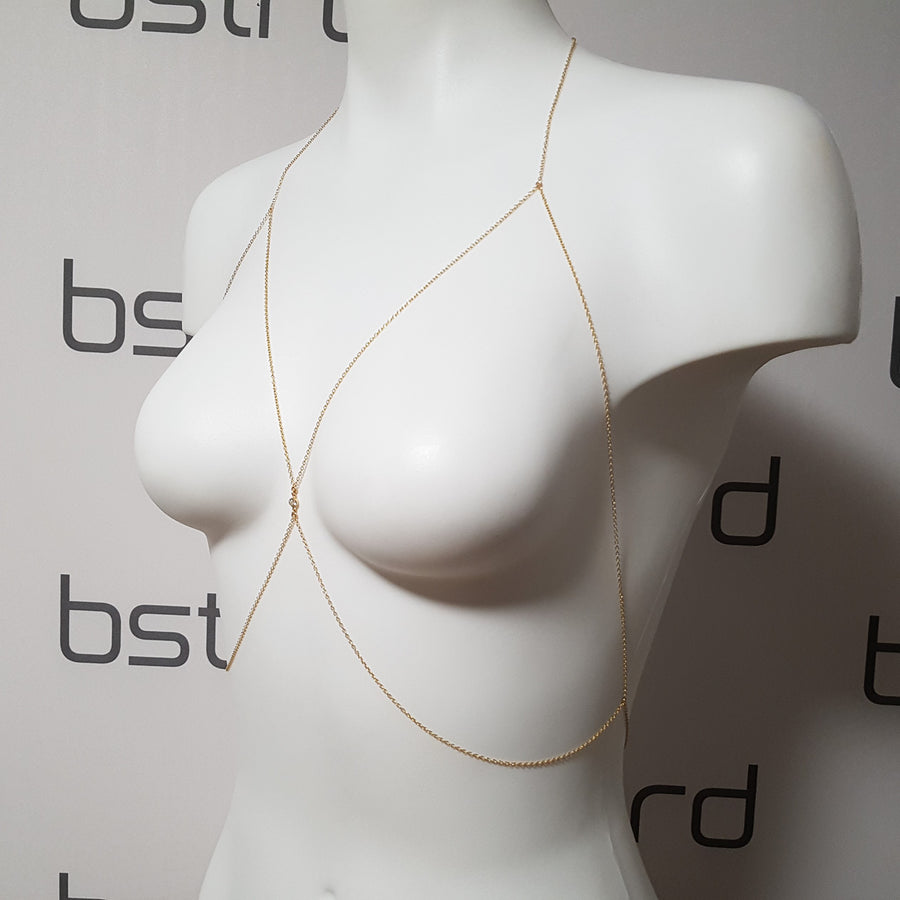 "The ""Tony Topaz"" Chain Harness"