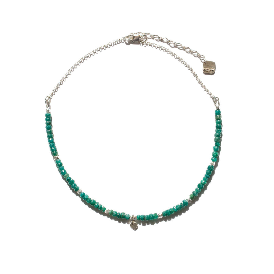 "The ""Emerald City"" Emerald Gemstone Necklace"