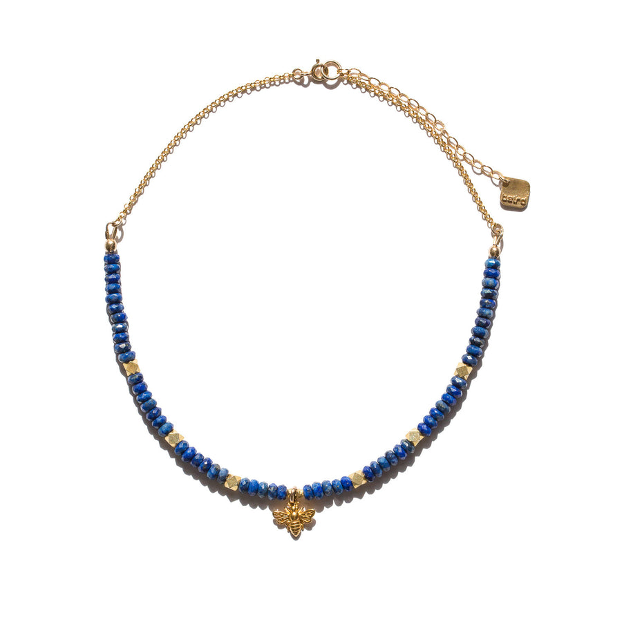 "The ""Sting Operation"" Lapis Lazuli Necklace"