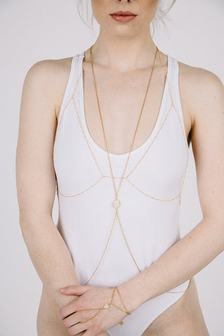 "The ""Titty Twister"" Chain Bralette"
