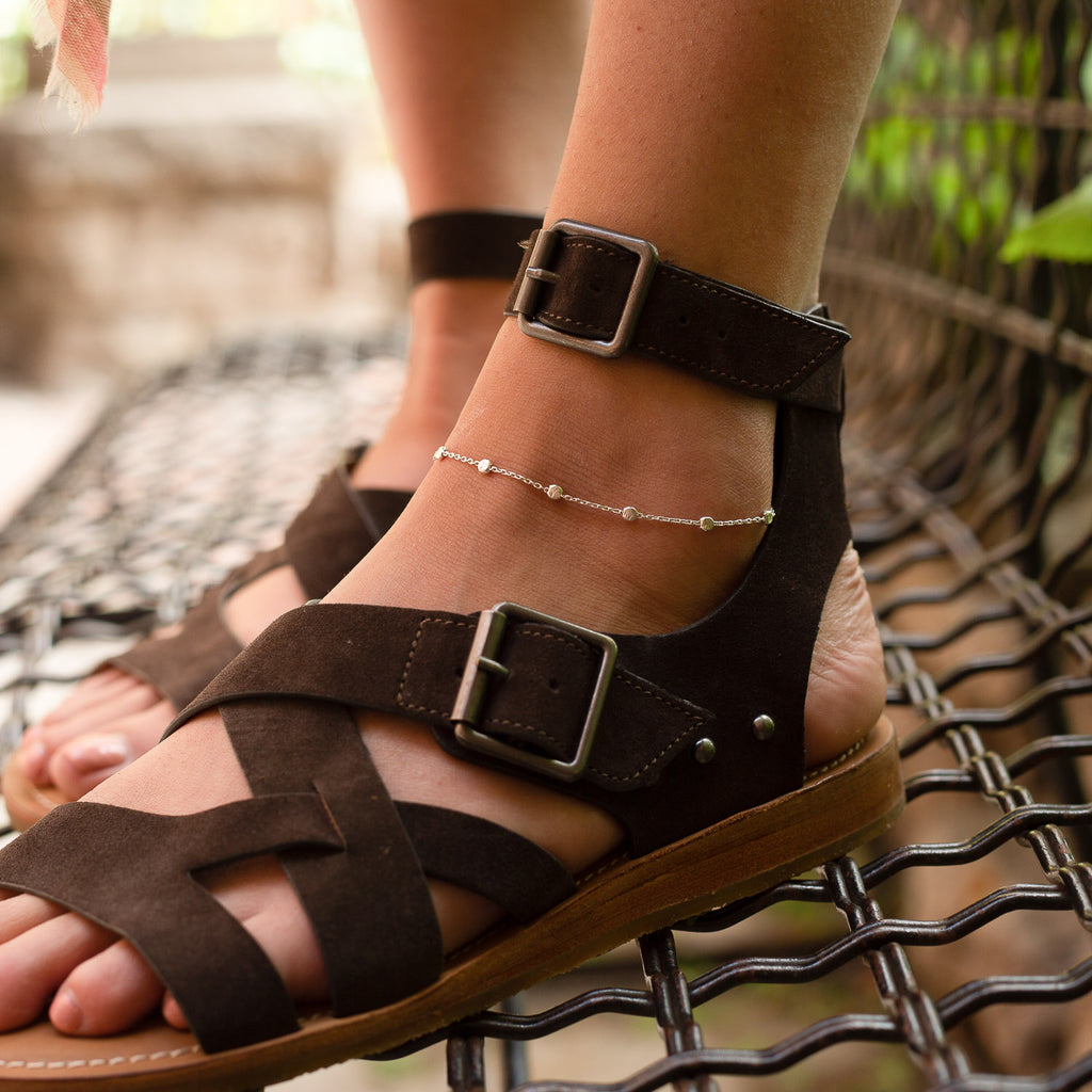 "The ""Orbital"" Anklet"