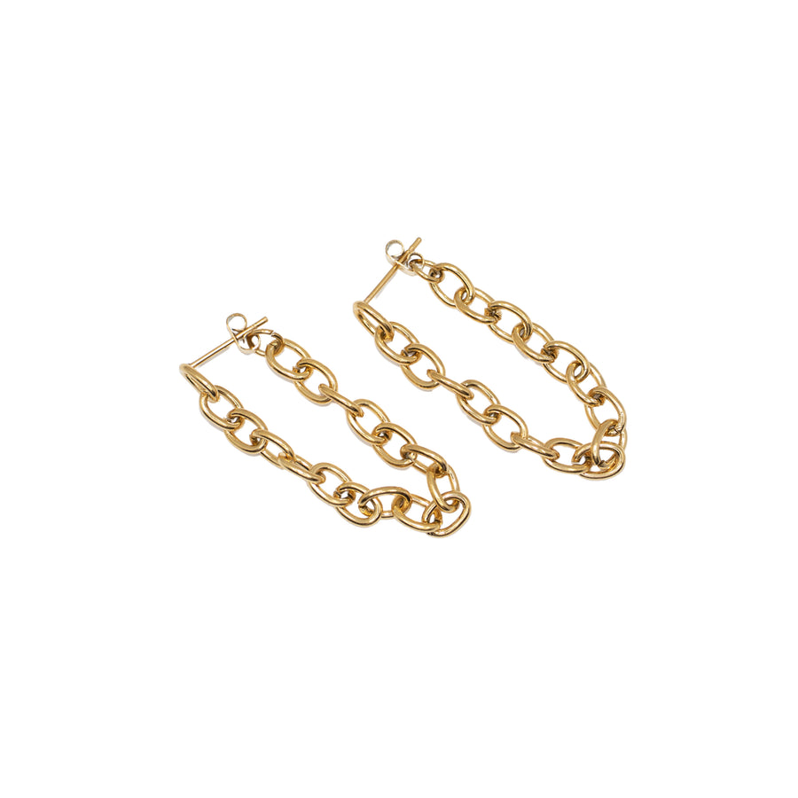 The Chained Stud Earrings