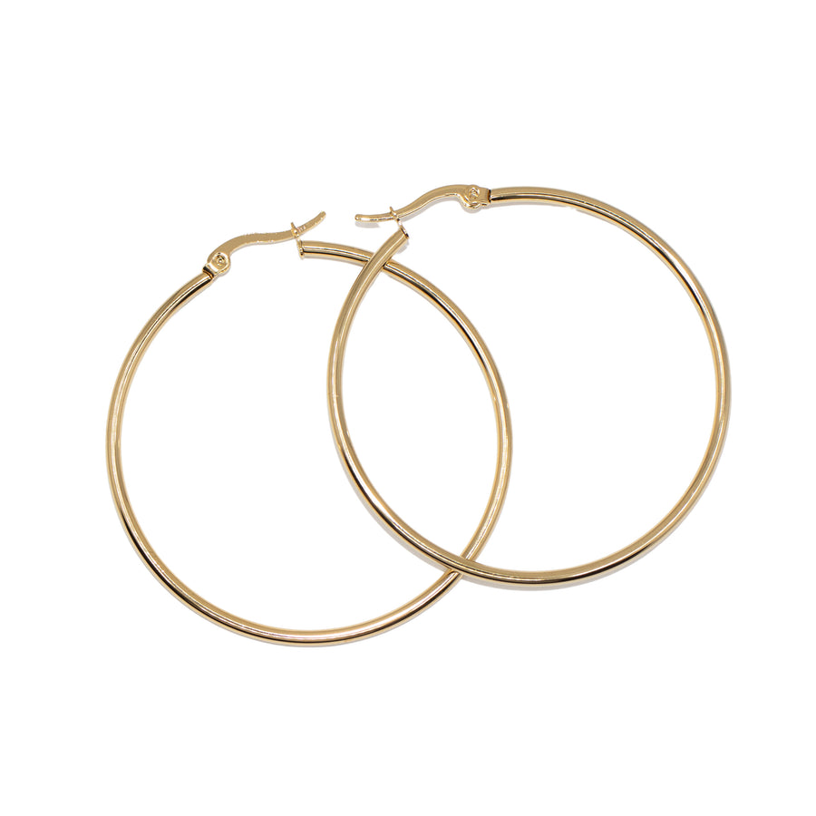 The Skinny Hoop Earrings