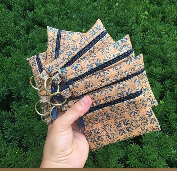 Cork Wallets and Change Purses