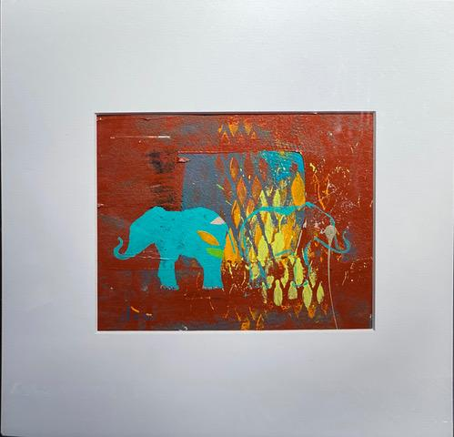 CorkHouse Art ANNE DOSSO-POWELL  Elephant Disco