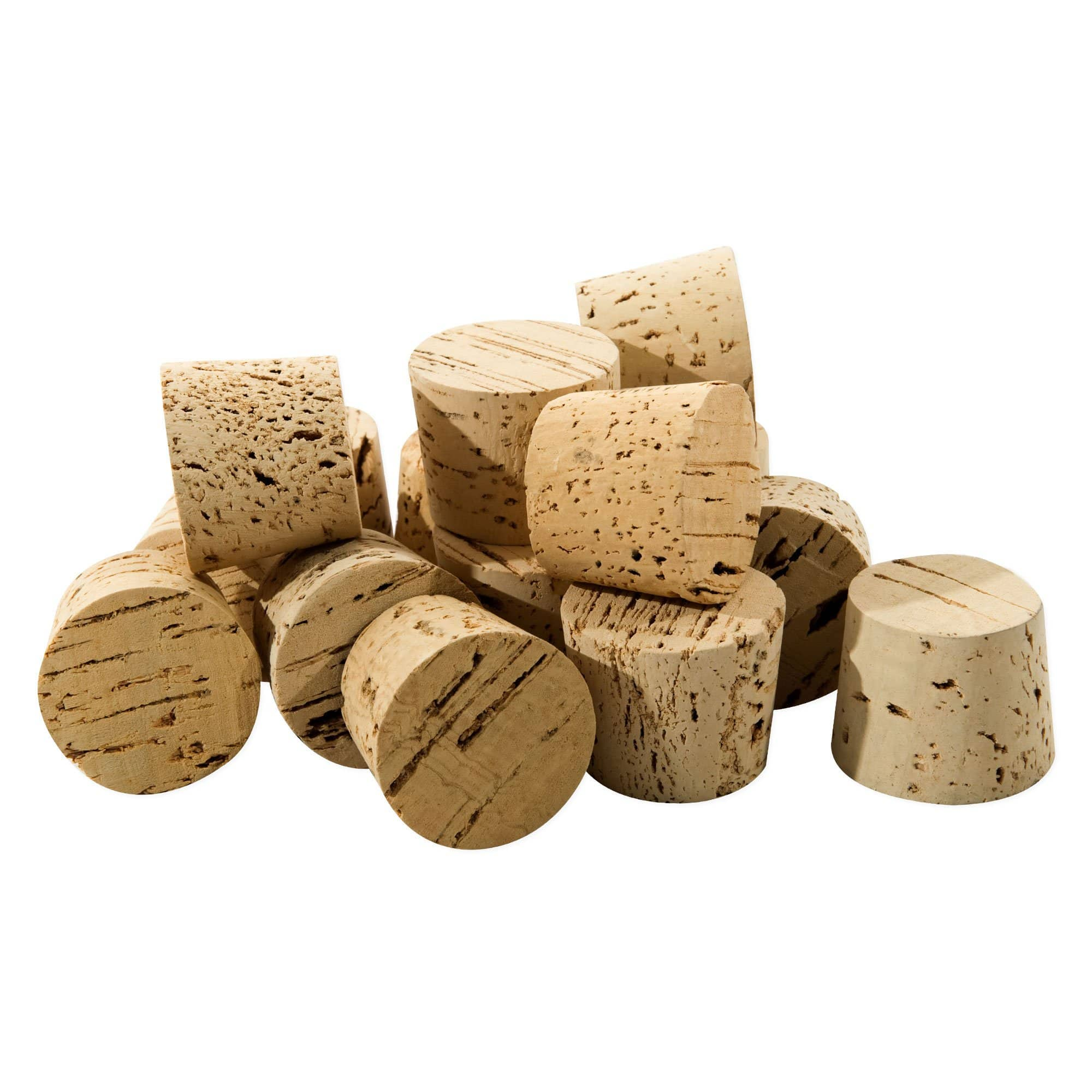 Regular Length Natural Tapered Cork - RL25