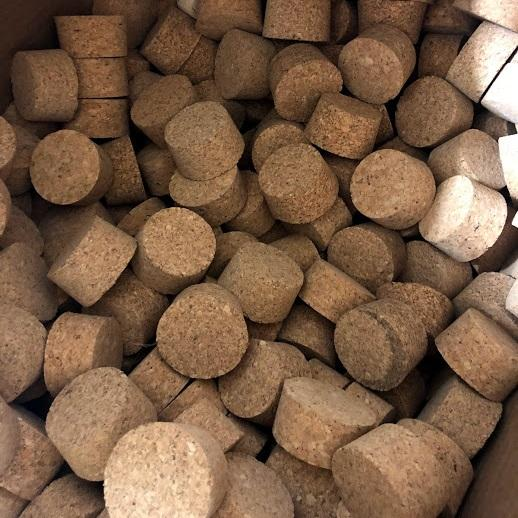 Short Length Agglomerate Tapered Cork - SL26