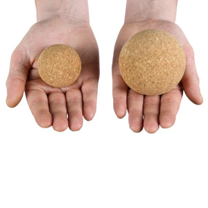 CorkHouse Set of 3 - Massage Balls with Carry Bag