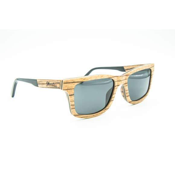 The North Shore - Wood Sunglasses - Naturally Anti-Microbial Hypoallergenic Sustainable Eco-Friendly Cork