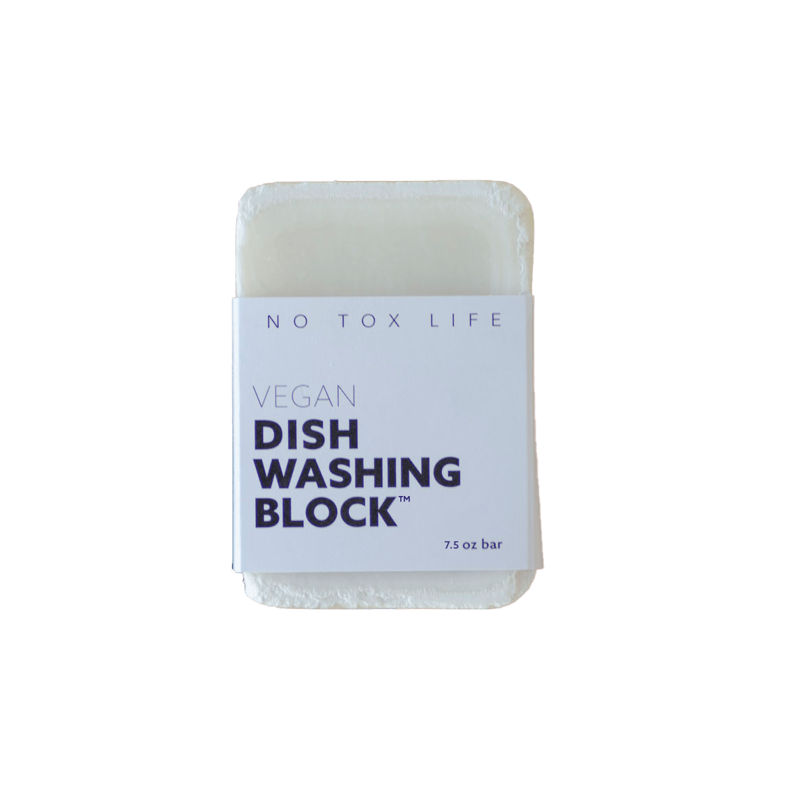 Zero Waste Dish Washing Block - Naturally Anti-Microbial Hypoallergenic Sustainable Eco-Friendly Cork