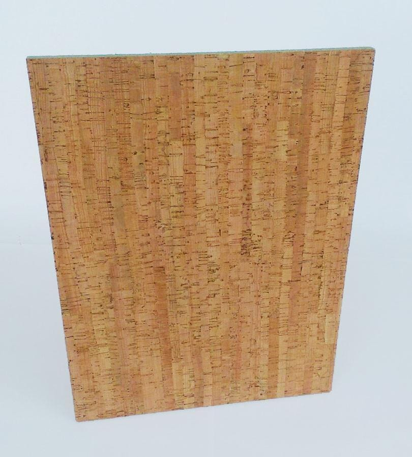 Custom Decorative Cork Veneer Bulletin Boards - Small, Medium, Large - Naturally Anti-Microbial Hypoallergenic Sustainable Eco-Friendly Cork