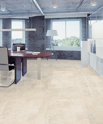 Cork Decor Floor Harmony White - Naturally Anti-Microbial Hypoallergenic Sustainable Eco-Friendly Cork