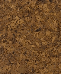Cork Decor Floor Madrid Standard Unvarnished - Naturally Anti-Microbial Hypoallergenic Sustainable Eco-Friendly Cork