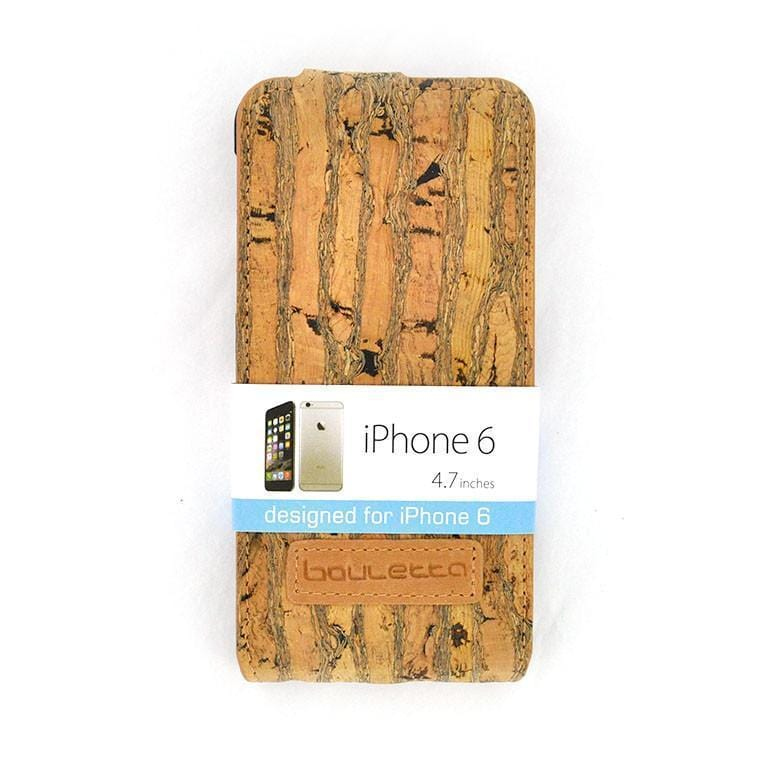 Cork iPhone 6s/6 Flipcase - Monaco - Naturally Anti-Microbial Hypoallergenic Sustainable Eco-Friendly Cork