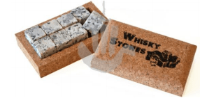Whiskey Stones - Naturally Anti-Microbial Hypoallergenic Sustainable Eco-Friendly Cork